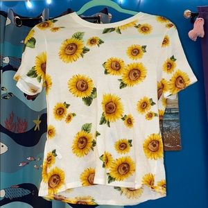 Forever 21 sunflower shirt